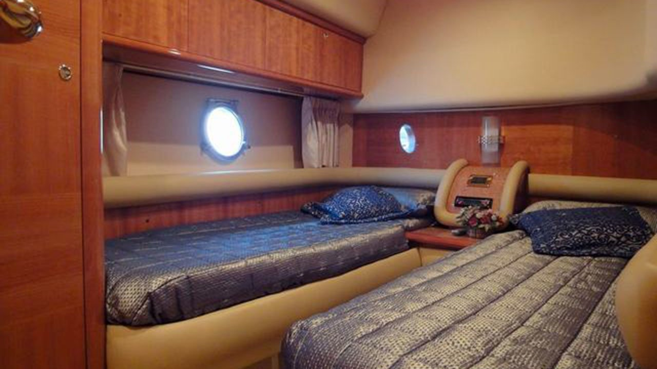 Bedding in the Yacht